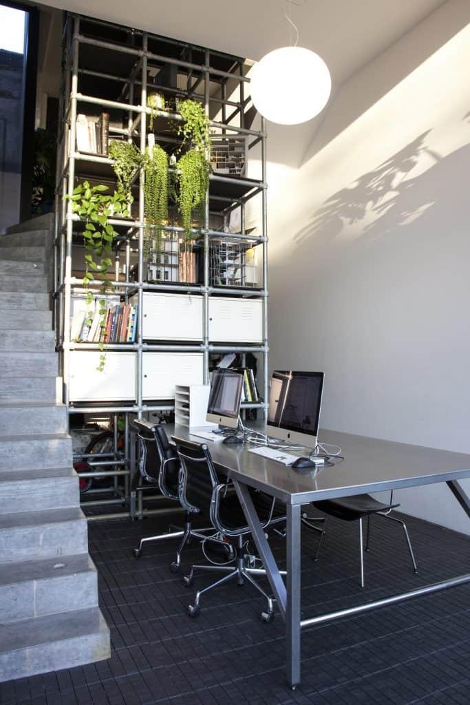 Nieuwbouw woning met kantoor
